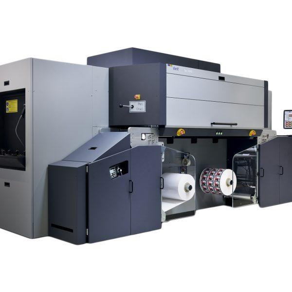 Tau 330E Single Pass UV Inkjet Label Press